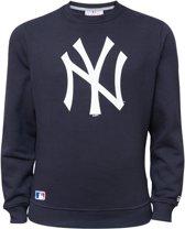 New Era NOS CREW New York Yankees Trui - Navy - XL