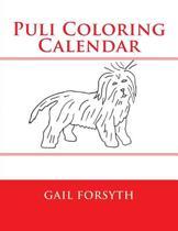 Puli Coloring Calendar