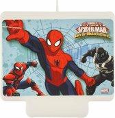 Spiderman™ verjaardagskaars - Feestdecoratievoorwerp