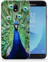 Samsung Galaxy J7 2017   J7 Pro TPU siliconen Hoesje Design Pauw
