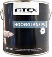 Fitex-Hoogglans PU-Bentheimergeel G0.08.84-2,5 liter