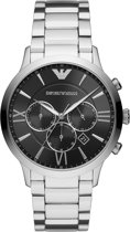 Emporio Armani Chronograaf horloge  - Zilverkleurig