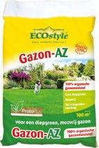 ECOstyle Gazon-AZ - 10 kg - gazonmeststof voor 100 m2