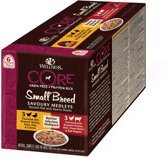Wellness Core Small Breed Savoury Butcher Multi-Pack - Hondenvoer - 6 x 85 g