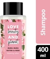 Love Beauty and Planet Blooming Color Muru Muru Butter & Rose Oil Shampoo 400 ml