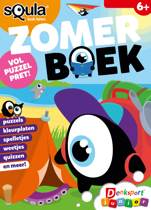 Boek cover Denksport Squla Vakantieboek Zomer 2019 van Keesing Nederland B.V.
