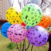 Gekleurde Voetbalballonnen 8stuks