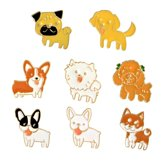 Kledingspelden set | Decoratie | kledingsierraad | Speld | Pin | Hond
