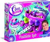 Clementoni - Crea Idea - Paillettes Lab - Hobbypakket