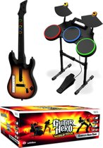 Guitar Hero: World Tour + Gitaar + Drumstel + Microfoon