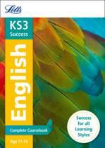 KS3 English Complete Coursebook (Letts KS3 Revision Success)