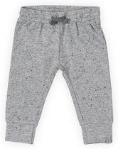 Jollein Unisex Broek - Speckled grey - Maat 74/80