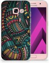 Samsung Galaxy A3 2017 TPU Hoesje Design Aztec