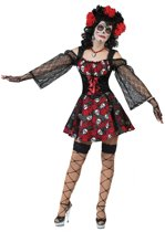 Dia de los Muertos piraat kostuum voor vrouwen  - Verkleedkleding - Large
