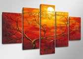 Art4-all - Canvas Schilderij Tangled - 160x80cm