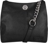 Chabo Bags Chain Bag Small Black Schoudertas  - Zwart