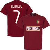 Portugal Ronaldo Team T-Shirt - L
