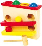 Base Toys Houten Hamerbank met Knikkerbaan Grande
