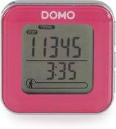 DOMO Digitale stappenteller DO9157ST roze