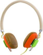 STREETZ HL-263 Hoofdtelefoon met microfoon en antwoordknop - 1,3m kabel