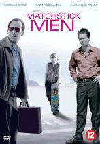 DVD cover van Matchstick Men