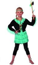 919b4d93f9bd2b Carnavalskleding Indianen kleedje meisje Wishbone Maat 116