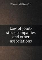 Law of Joint-Stock Companies and Other Associations