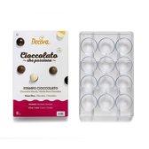 Chocolade mal bolletjes, 50mm - Decora