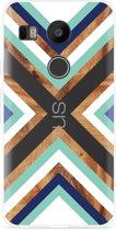LG Nexus 5X Hoesje Wood Art