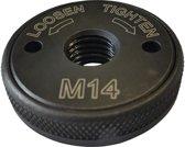 Snelspanmoer voor haakse slijper M14