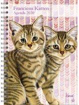 Spiraalagenda 2020 Franciens katten (luxe) 'Kittens'