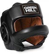 Green Hill Head Guard CASTLE Black-S