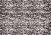 Fotobehang Stone Wall | L - 152.5cm x 104cm | 130g/m2 Vlies