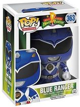Funko Pop! Power Rangers Bobble Head N° 363 Blue Ranger Metallic Ltd - Verzamelfiguur