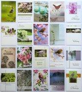 Rouwkaarten - Condoleance kaarten - Set van 20--L-038