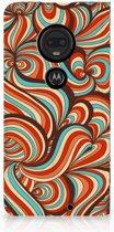 Motorola Moto G7 | G7 Plus Standcase Hoesje Design Retro