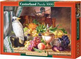 Copy of Still Life With Fruit and a Cockatoo puzzel 3000 stukjes
