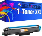 PlatinumSerie® 1 toner XXL cyaan alternatief voor Brother TN-243 TN 247