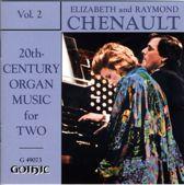 Twentieth Century Organ Music for Two, Vol. 2