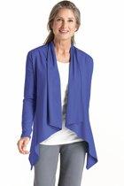 Coolibar UV vest Dames - Blauw - Maat 40