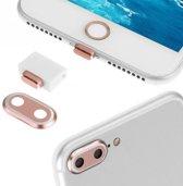 Stofkap Set voor iPhone 7 Plus - Roze