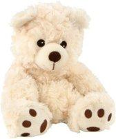 Magnetron warmte knuffel beer 18 cm - Warmte/koelte knuffelbeer - Kruik knuffels voor kinderen/jongens/meisjes