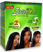 Suavi Pelo Relaxer Kit 2 Applicaties (Real Hair Fashion)