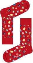 Happy Socks - Happy Holliday Christmas - Gift - Rood - Unisex - Maat 41-46