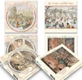 setje 3: Anton Pieck kerstkaartenboxje (20 krt)
