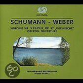 Schumann: Symphony No. 3, Op. 97 'Rheinische'; Weber: 'Oberon' Overture