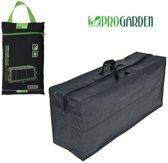 ProGarden luxe opberghoes voor tuinkussens - 130x50x32cm