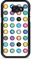 Galaxy A5 2017 Hardcase Hoesje Cryptocurrency