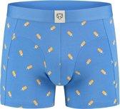 A-dam boxershort Splinter, blauw met ijs