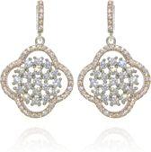 Velini jewels -EA6495R -Oorbellen -925 Zilver rosé -Cubic Zirkonia